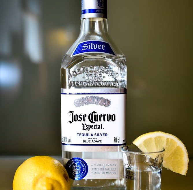Tequila flaske